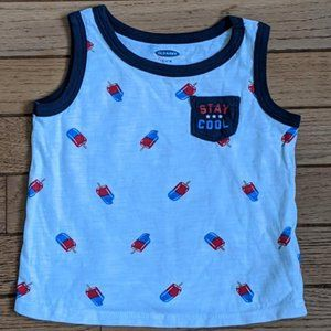Old Navy Popsicle Tank Top Shirt